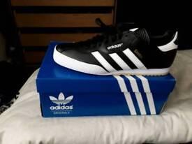 Adidas Originals Samba Super Trainer ‑ Black -Size 10