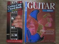 Guitar books, Chord book and Guitar Rock School Grade 6