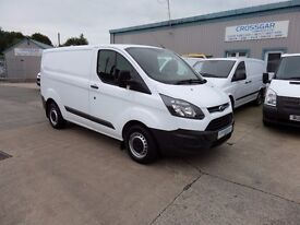 FORD TRANSIT CUSTOM SWB 125 bhp 2015 WITH JUST 33140 MILES ONE OWNER