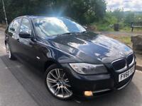 2010 60 BMW 3 SERIES 320 D EXCLUSIVE EDITION AUTO # Sat Nav # parking sensors # leather