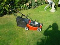 Lawn mower small battery operated with charger southend £29