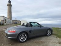 "Porsche Boxster 17"" Wheels and Tyres genuine Porsche"