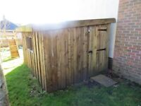 Quality wooden garden shed 10.5 x 8.5 ft 1.8mm panels