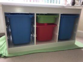 IKEA 4 draw storage unit