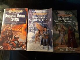 DragonLance Chronicles Books 1 to 3