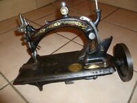 "RARE Antique 1880s Hurtu ""Nouvelle Machine A Fil Continu"" Size A"