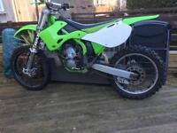 Kx250 motocross bike