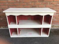 Shabby Chic TV and display unit - collection only from Tasburgh