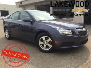 2013 Chevrolet Cruze LT Turbo (Heated Seats, Colored Touch Scree