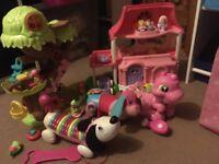 Bundle of baby girls toys