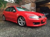 Seat leon FR TDI 2005 modified coilovers remap cupra r bumpers from factory long mot 160k