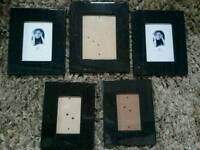 Photo frames x5