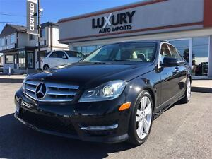 2012 Mercedes-Benz C-Class C300 4MATIC -NAVIGATION-PANOROOF-ONLY