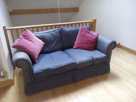 3 seater sofa bed, folds out to make full double bed