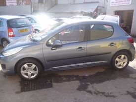 Peugeot 207 S,5 door hatchback,1 previous owner,2 keys,nice clean tidy car,only £30 a year road tax