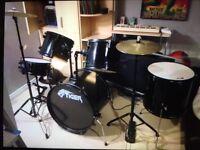 Tiger drum kit 6 piece