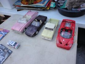 Various model toy cars Dinky, some scale models