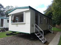 cheap static caravan for sale North Devon open 12 months stunning woodland park by the sea