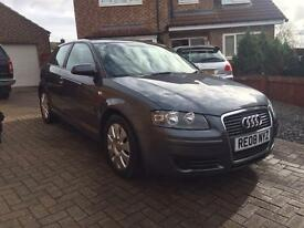2008 AUDI A3 1.9 tdi low miles £30 a year tax