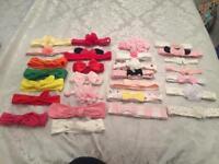 Baby headband bundle