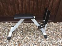 Pre-owned leg press training bench