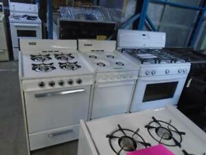 ON ACHETE VOS CUISINIERES AU GAZ / WE BUY YOUR GAS RANGES
