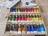 Artisan Water Mixable Oils 33 set + large white tube & medium & information leaflet