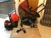 Cybex Priam 3 in 1 plus ISOfix and Car Seat
