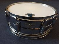 Pearl Mirror Chrome Steel Shell Snare Drum