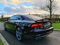 2015 Audi A7 3.0 TDI Quattro 272 Black Edition 5dr S Tronic TECH PACK! £9100 OF FACTORY UP-GRADES
