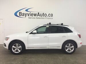 2016 Audi Q5 - TURBO! AWD! HEATED LEATHER! PWR TRUNK! BLUTOOTH!
