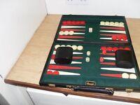 Backgammon set by Harrods.