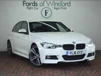 BMW 3 SERIES 330E M SPORT 4DR STEP AUTO (white) 2016