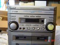Karaoke machine with mic and disks