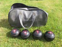 Set of Size 1M Lawn Bowls