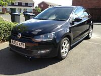 Volkswagen Polo 1.2 Moda Black, 3 Dr, Manual, Perfect first car. A/C, Alloy wheels, Cheap to run!