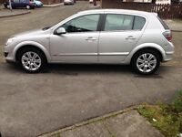 Vauxhall Astra design 1.6 Full service history 7 month mot Half leather sea s BARGIN!
