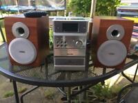 Philips micro cd/radio/tape player