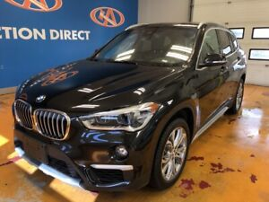 2019 BMW X1 xDrive28i HEATED LEATHER/ NAVI/ VISTA ROOF/ KEYLE...