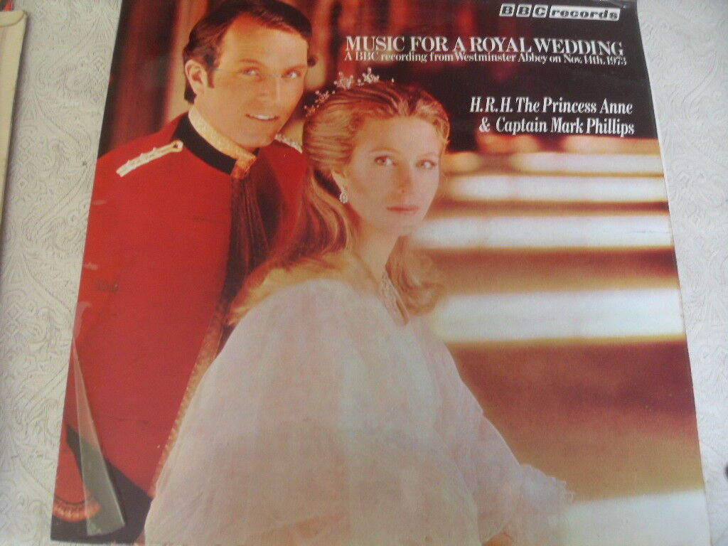 MUSIC FOR A ROYAL WEDDING HRH PRINCESS ANNE 1973 RECORD ALBUM LP BY BBC RECORDS