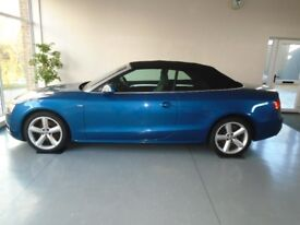 Audi A5 20 TDI S LINE CABRIOLET ONLY 49000 MILES