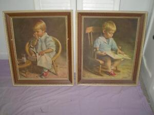Matching Picture Frames or Pictures