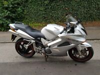 Silver Honda VFR800 , good condition, only just passed MOT with no advisories
