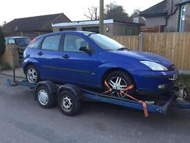 Ford Focus breaking for spares most parts avalible