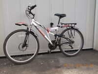 Boss Cragg mountain bike. Good condition, 18 gears.