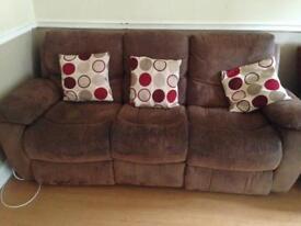Sofa x2 3 seaters