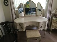 Olympus Dressing Table and Stool