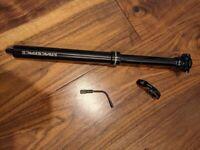 Race Face Turbine dropper seatpost - 150 mm + remote lever