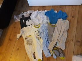 clothes bundle baby girl 0-6 months - 34 items