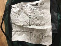 Euro hike 360 tent - 2 man
